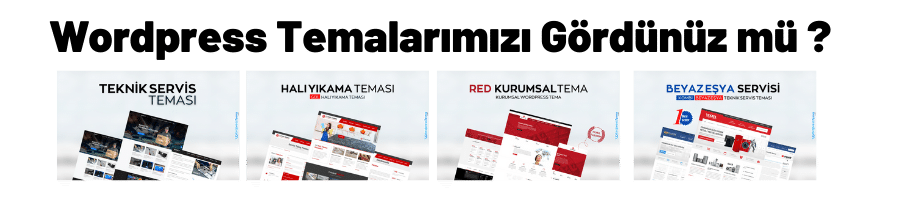Wordpress Boş Tema